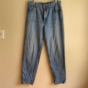 Levi's jeans 551 relaxed fit tapered leg 14 M